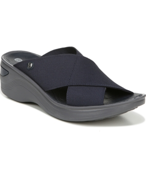 Bzees Desire Wedge Slides Women's Shoes