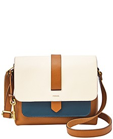 Kinley Small Colorblock Leather Crossbody