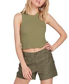 Juniors' Army Whaler Shorts