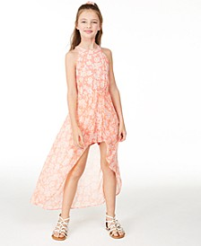 Big Girls High-Neck Printed Walkthrough Romper, Created for Macy's