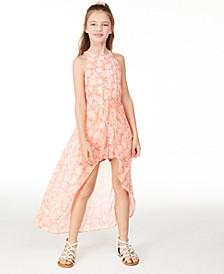 Big Girls High-Neck Printed Walkthrough Romper, Created for Macy's