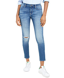 Vigoss Jeans Ripped Skinny Ankle Jeans