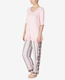 Ruffle Pajama Set