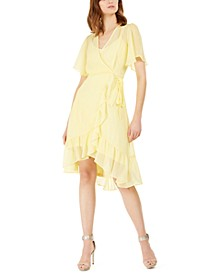 Petite High-Low Chiffon Dress