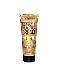 Lemon Hand Cream, 4 oz