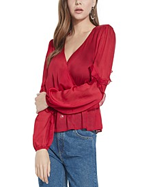 Azell Ruffled Top