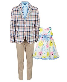 & Blueberi Boulevard Colorful Suit & Dress Separates