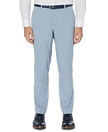 Men's Portfolio Slim-Fit 4-Way Stretch Heather Dress Pants