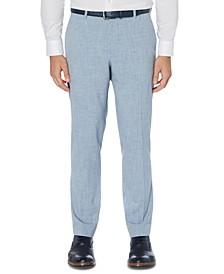 Men's Portfolio Slim-Fit 4-Way Stretch Heather Dress Pants
