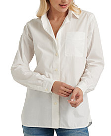 Lucky Brand Relaxed One-Pocket Shirt