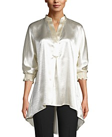 Liquid-Satin Blouse