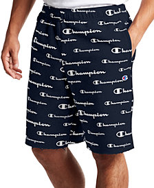 Champion Men's Powerblend Logo-Print Shorts