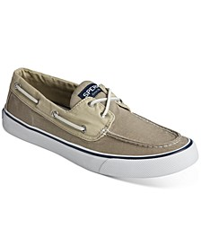 Men's Bahama II Nautical White Boat Shoes
