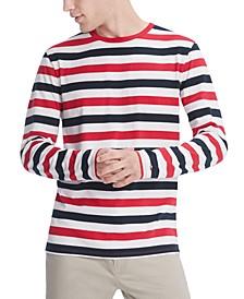 Men's Leith Striped Long Sleeve T-Shirt