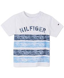 Baby Boys Striped Cotton T-Shirt