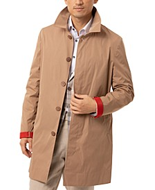 Men's Slim-Fit Raincoat