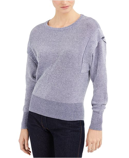 INC International Concepts INC Acid-Wash Sweater, Created for Macy's
