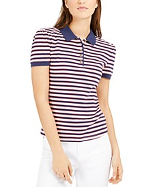 Striped Polo Shirt, Created for Macy's