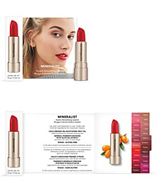 Choose your FREE Deluxe Mineralist lipstick with any $35 bareMinerals bare purchase. Choice of 2 Shades.