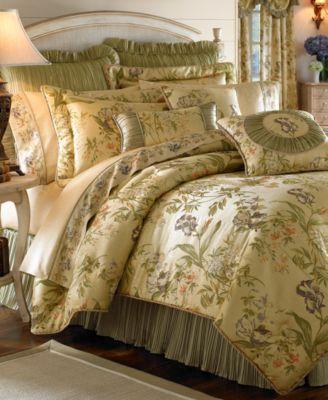 Bed u0026 Bath u003e Bedding u003e Bedding Collections CLOSEOUT Croscill Iris  4pc Bedding Collection