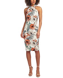 Harland Palms Sheath Dress