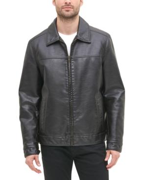 Tommy Hilfiger Men's Faux Leather Jacket