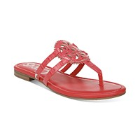Macys deals on Circus by Sam Edelman Womens Canyon Medallion Flat Sandals