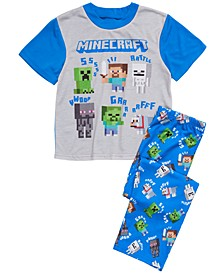 Big Boys 2-Pc. Minecraft Pajama Set