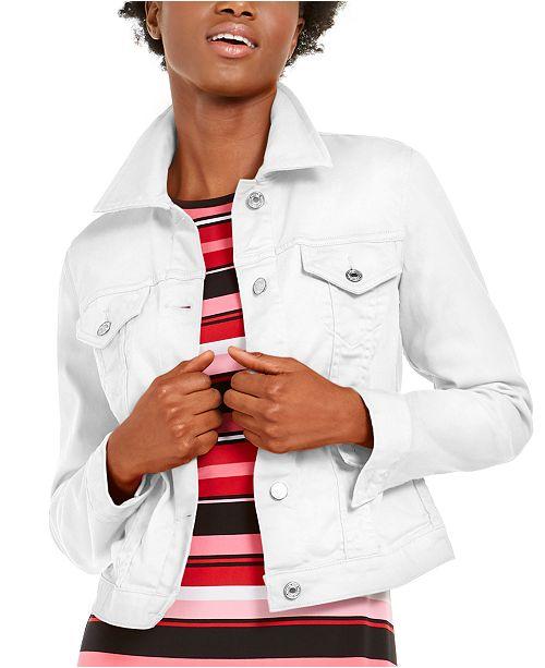 Michael Kors Cotton Denim Jacket