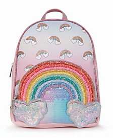 Toddler, Little and Big Kids Over The Rainbow Icon Mini Backpack