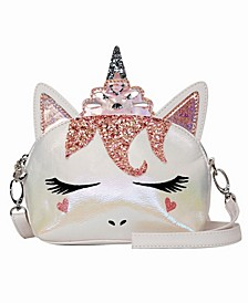 Toddler, Little and Big Kids Princess Miss Gwen Unicorn Dome Crossbody