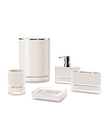 Float 5 Piece Bathroom Accessory Set