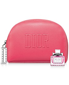 Receive a complimentary Dior Pouch and Miss Dior Rose N' Roses Mini Deluxe with any $150 Dior Women's Fragrance Purchase