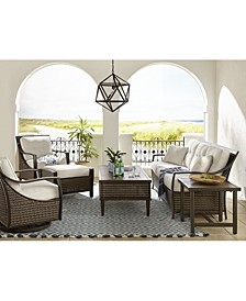 North Shore Outdoor Seating Collection with Sunbrella® Cushions, Created for Macy's