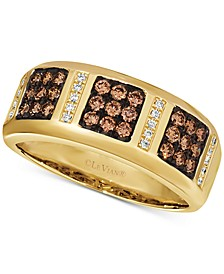 Chocolatier® Men's Diamond Band (5/8 ct. t.w.) in 14k Gold