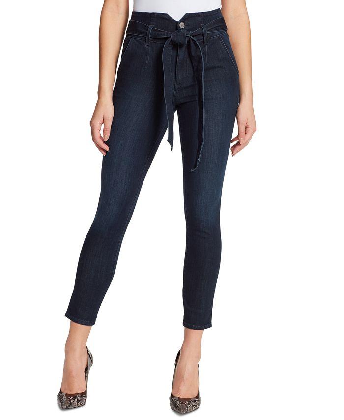 Skinnygirl - Jackie Tie-Belt Skinny Jeans
