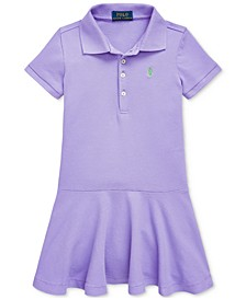 Toddler Girls Short-Sleeve Polo Dress