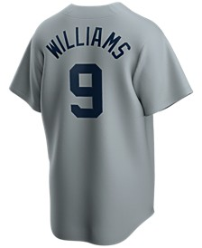 Men's Ted Williams Boston Red Sox Coop Player Replica Jersey