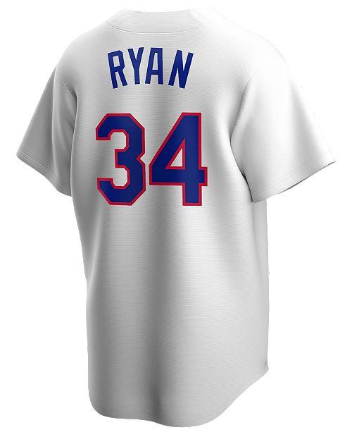 Nike Men's Nolan Ryan Texas Rangers Coop Player Replica Jersey