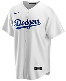Men's Los Angeles Dodgers Official Blank Replica Jersey