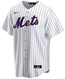 Men's New York Mets Official Blank Replica Jersey