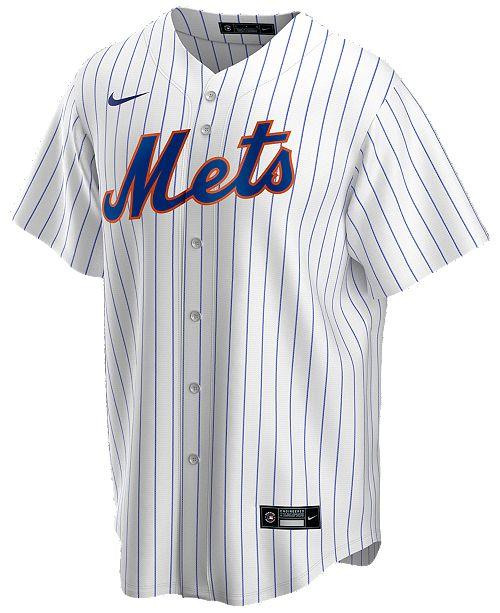 Nike Men's New York Mets Official Blank Replica Jersey