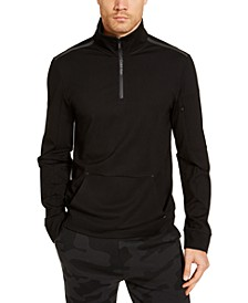 Men's CK Move 365 Long Sleeve Quarter Zip Sweatshirt