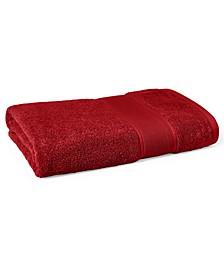 "Sanders  Antimicrobial Cotton Solid 30"" x 56"" Bath Towel"