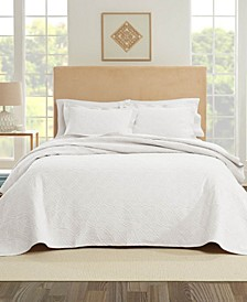 Bogart European Matalasse Coverlet Set Twin
