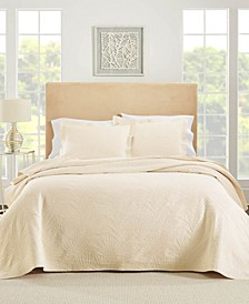 Ella European Matalasse Coverlet Set Twin