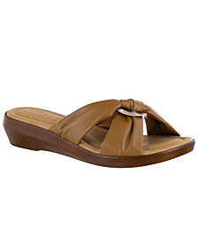Tuscany by Easy Street Cella Slide Sandals