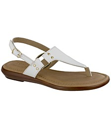 Tuscany by Karaleah Slingback Thong Sandals