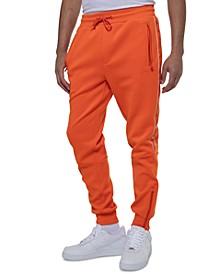 Men's Classic-Fit Stretch Logo Tape Track Pants