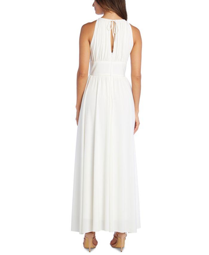 R & M Richards Embellished Keyhole-Cutout Gown & Reviews - Dresses - Women - Macy's